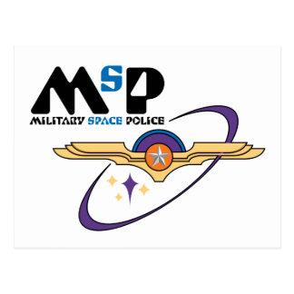 Policía militar del espacio postales