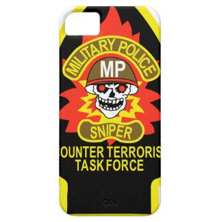 POLICÍA MILITAR SPD iPhone 5 CARCASA