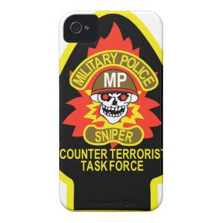 POLICÍA MILITAR SPD iPhone 4 Case-Mate FUNDAS
