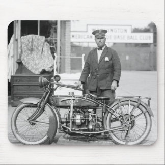 Policía Motorcycle, 1922 de Henderson Alfombrillas De Raton