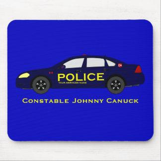 Policía Mousepad - Canadá Alfombrilla De Raton