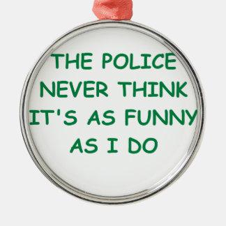 policía ornamento para reyes magos