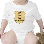 policía trajes de bebé