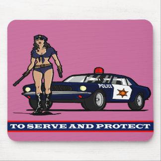 POLICÍA WOMAN1 TAPETE DE RATON
