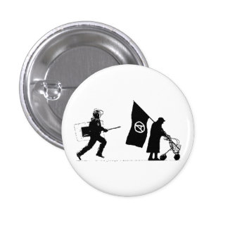 Policy & Granny Pinback Buttons