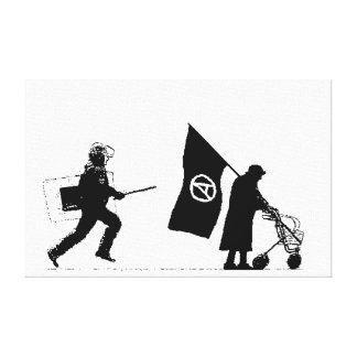 Policy & Granny Canvas Print