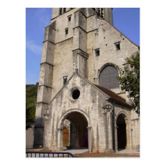 Poligny Church Postcard