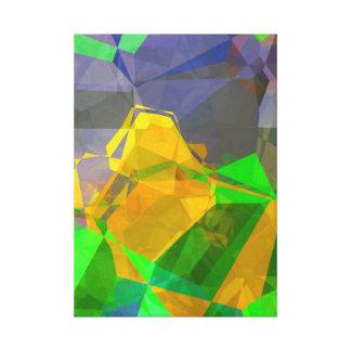 Polígonos abstractos 107 lona estirada galerias