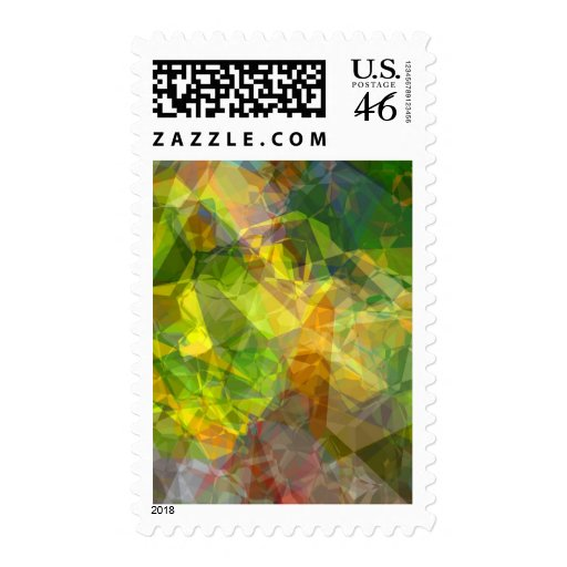 Polígonos abstractos 11 sello