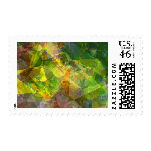 Polígonos abstractos 11 sellos