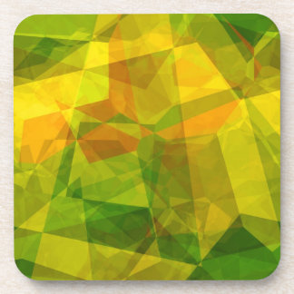 Polígonos abstractos 123 posavaso