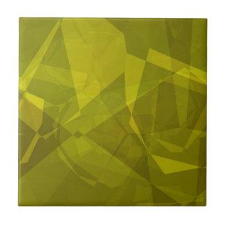 Polígonos abstractos 142 azulejo cuadrado pequeño