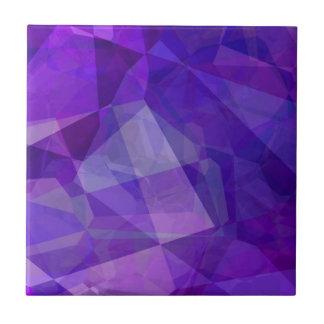 Polígonos abstractos 149 azulejo cuadrado pequeño