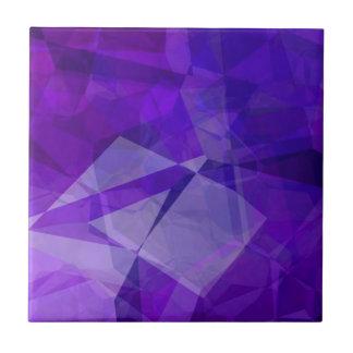 Polígonos abstractos 151 azulejo cuadrado pequeño