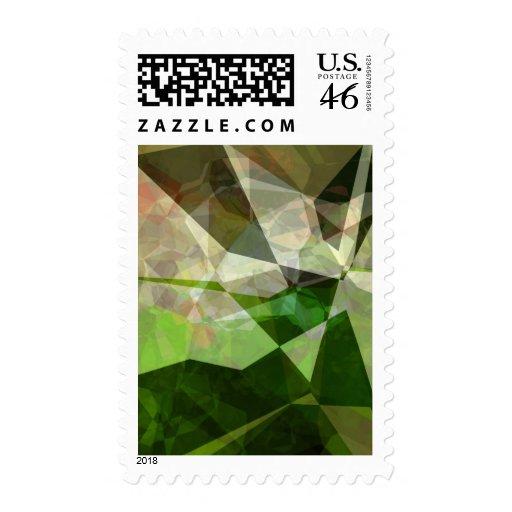 Polígonos abstractos 163 sello