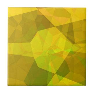 Polígonos abstractos 172 azulejo cuadrado pequeño