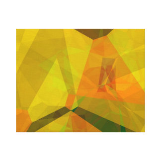 Polígonos abstractos 176 impresión en lienzo