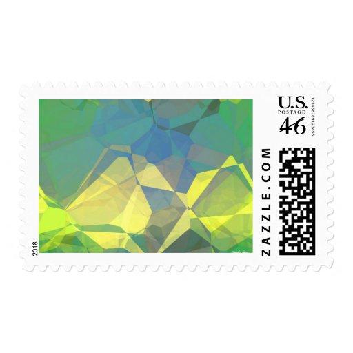 Polígonos abstractos 186 franqueo