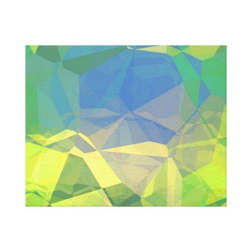 Polígonos abstractos 187 impresiones de lienzo