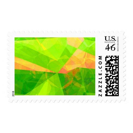 Polígonos abstractos 198 franqueo