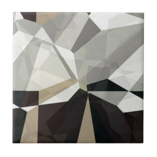 Polígonos abstractos 212 azulejo cuadrado pequeño