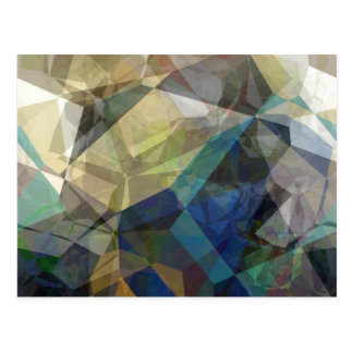 Polígonos abstractos 217 tarjetas postales