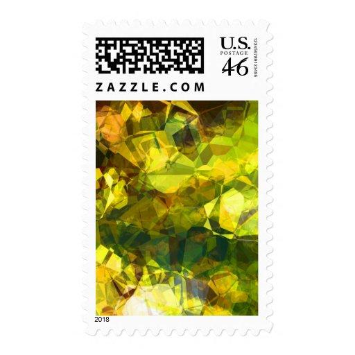 Polígonos abstractos 2 sellos