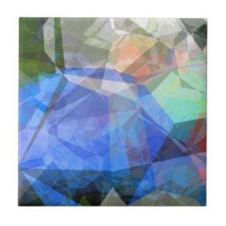 Polígonos abstractos 41 azulejo cuadrado pequeño