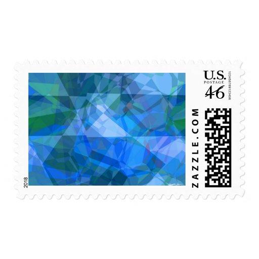 Polígonos abstractos 51 sellos