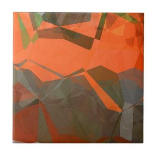 Polígonos abstractos 59 azulejo cuadrado pequeño