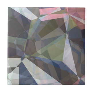 Polígonos abstractos 89 azulejo cuadrado pequeño