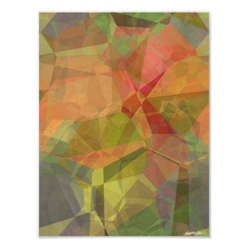 Polígonos abstractos 99 cojinete