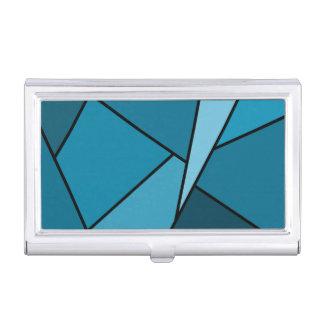 Polígonos abstractos del trullo cajas de tarjetas de presentación