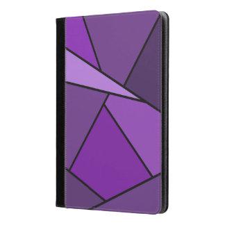 Polígonos púrpuras abstractos