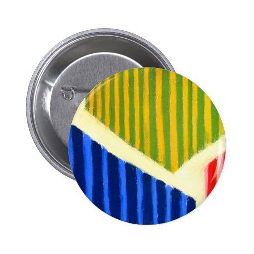 Polígonos rayados (expresionismo geométrico) pin