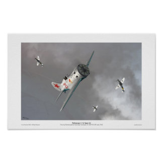 Polikarpov I-16 Type 24 Poster