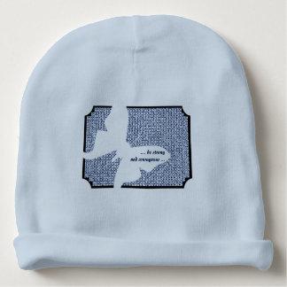 Polilla azul de Itajime Shibori Luna de la cita Gorrito Para Bebe