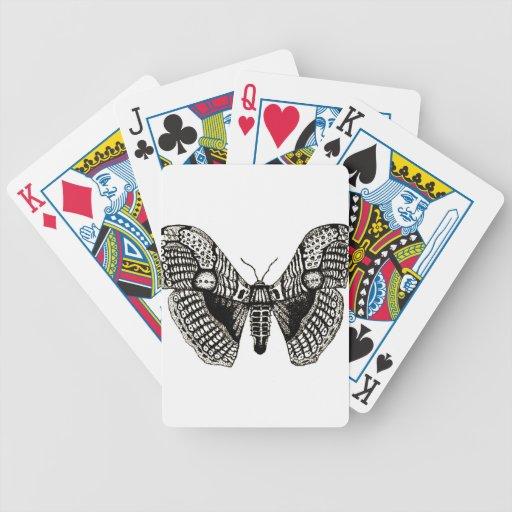 polilla baraja cartas de poker