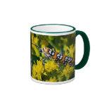 Polilla colorida tazas de café