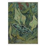 Polilla de emperador de Vincent van Gogh Felicitacion