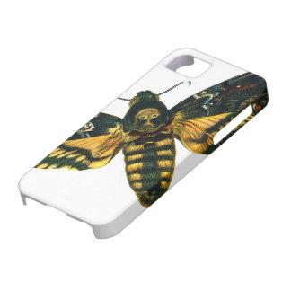 Polilla de la cabeza de muerte iPhone 5 protector