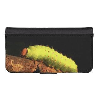 Polilla de Luna Caterpillar Funda Tipo Billetera Para iPhone 5