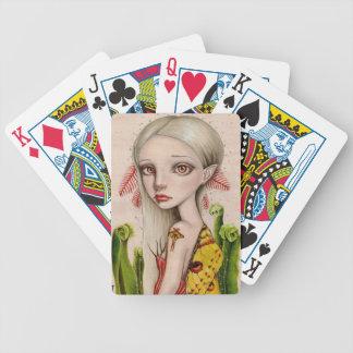 Polilla del cometa baraja cartas de poker