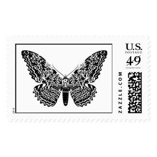 Polilla del fantasma sellos postales