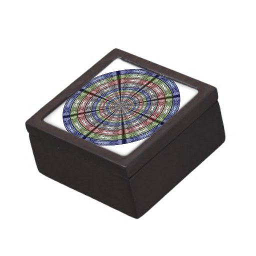 Polilla RGB grande redonda Caja De Regalo De Calidad