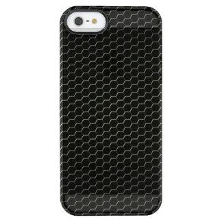 polímero Carbono-fibra-reforzado Funda Transparente Para iPhone SE/5/5s