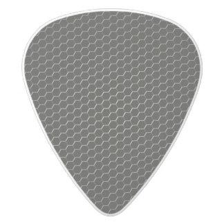 polímero Carbono-fibra-reforzado Púa De Guitarra Delrin Blanco