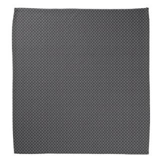 Polímero negro y gris de la fibra de carbono bandanas