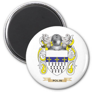 Polin Coat of Arms (Family Crest) Magnet