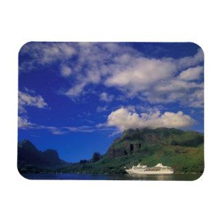 Polinesia francesa, Moorea. Bahía de los cocineros Imán Rectangular